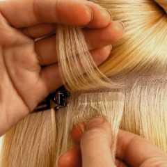 История наращивания волос